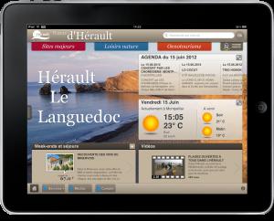 Hérault - Languedoc sur iPad